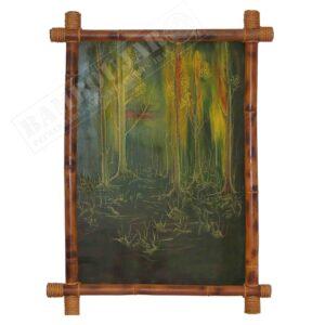 نقاشی مدل جنگل بهاری TaNaJaBC1