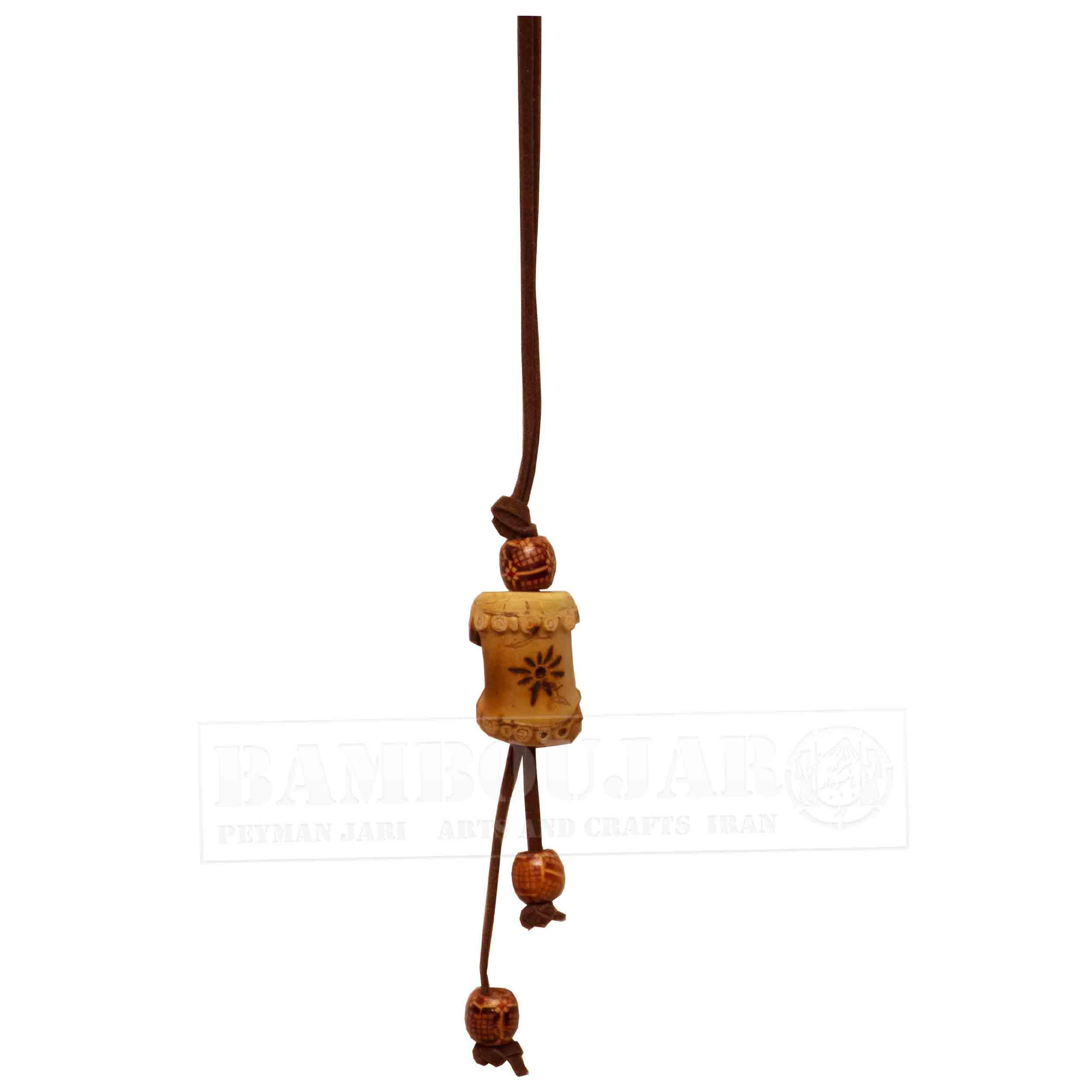 گردنبند مدل بامبو کد GaBaC3